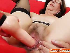 Tease and puma solo with a lovely attractive mature
