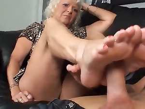 My Mother in law First Footjob