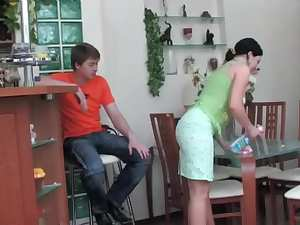 Gwendolen - Houseworking Hot Ass Stepmom