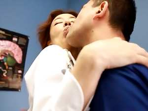 Kei Marimura Hot mature doll is a wild nurse at work