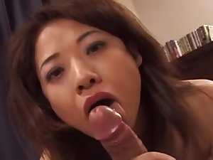 40yr old Japanese Mom Swallows not Her Sons Cum (Uncensored)