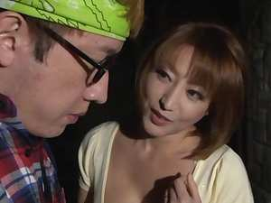 Reiko Kagami naughty Japanese milf gets a hot rear fucking