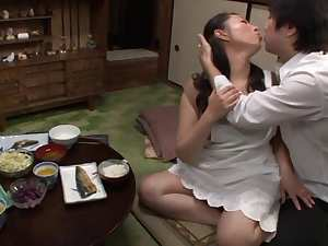 Aya Kitagawa naughty Asian mature housewife gets anal fucking