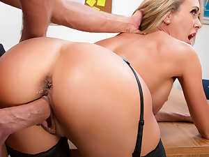 Brandi Love & Bill Bailey in Naughty Office