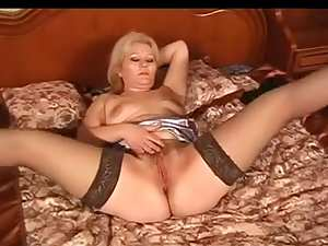 Russian Mature Masturbates (My Enjoyable Mommies 28)