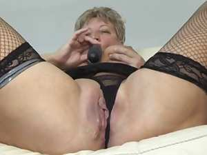 Golden-Haired Shorthair big beautiful woman-Granny screwed