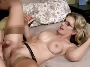 Mature slut got facialized after anal sex