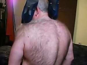 Attractive mature Bisex, hirsute older man