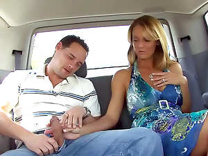 Car BJ and fucking at home