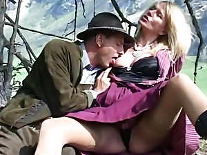 Anal Sex in Switzerland with mountain view
