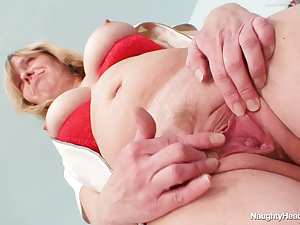 Mature nurse with tight cunt