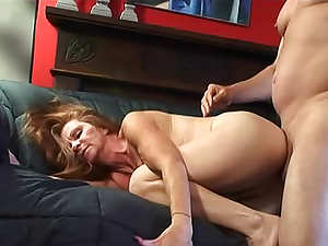 Old and captivating Misty Gold is having fuck with her buddy