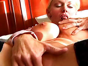 Big boobs and tight body on mature fuck slut