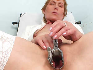 Medical perversion from a mature nurse Mila