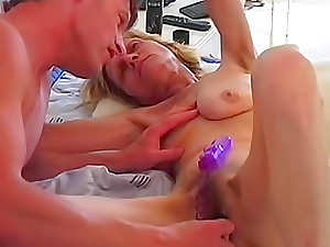 Hana uses a small dildo to reach multiple orgasms