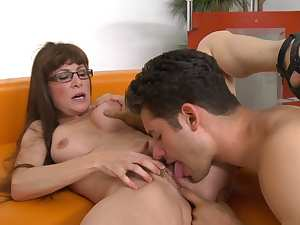 Alexandra Silk is banging nasty with Giovanni Francesco