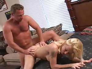Sweet mature babe is being hardcore pounded
