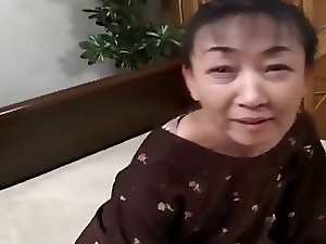 54yr experienced Shaggy Sensual japanese Granny still Craves Cum (Uncensored)