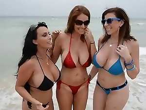 Charlee, Holly and Sara Housewives on the Beach FUCK