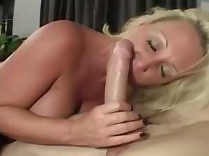 cumshot on knockers mum