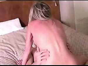 light-haired mother fuck wild his son