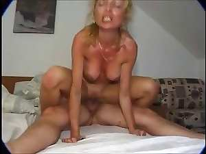 insatiable German Stepmom