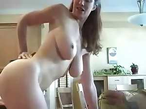 mummy doggy and cum on naughty ass