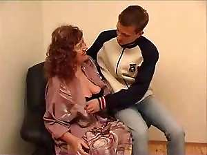 wonderful granny July jerk off a 19yo fellow