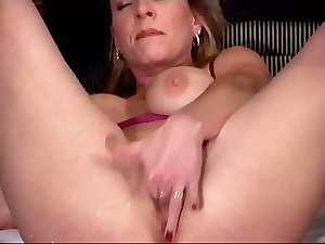 Light-haired Filthy bitch squirter