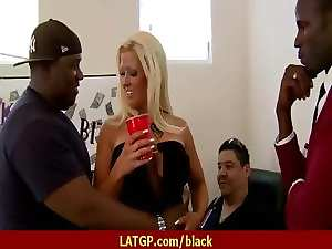 Cougar Hussy Jump On A Black Monster 1