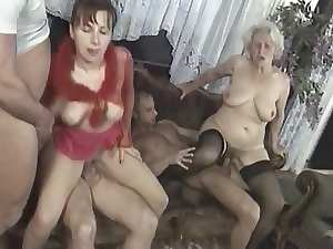 Seductive mom Orgy