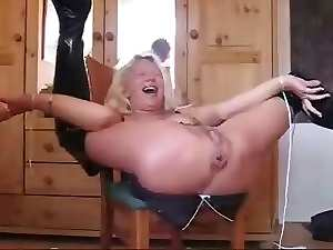 German granny Squirting