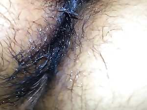 Attractive mature Latina Hirsute Creampie