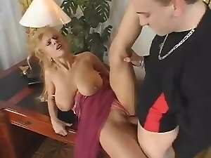 filthy bitch with big melons sensual fuck