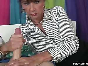 Morning Cougar Handjob