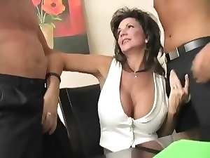Solid divorced mature whore - dp butthole squirting