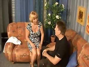German slutty mom - son - Mutti und Sohn