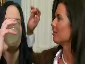 Seductive seductive teen lets her mother in law Veronica Avluv shares banging with her fellow