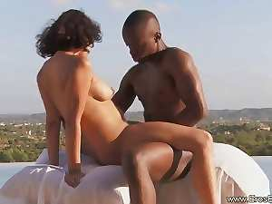 Exotic Filthy ebony Mommy and Her African Lover