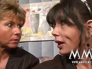 MMV Films Aged teacher having fun with a couple