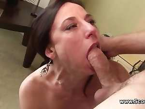 Mother get Anus fuck in her aged butt and cum in Face