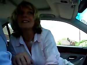 Attractive mature Head #27 (Scandalous Cheating Slutty wife in the Car)