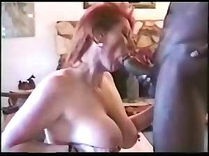 Experienced dirty wife invites black bull at home