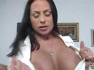 Blameless white slutty mom loves fatty ebony penises