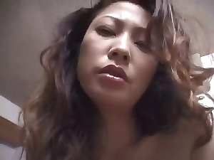 Bushy Seductive japanese Mommy ( Point of view )