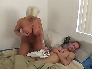 mother in law jerking off NOT her son