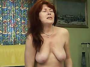Another attractive slutty mom solo